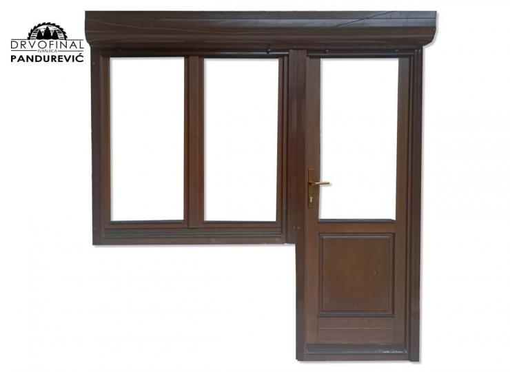 Drvena balkonska vrata i prozori - Drvofinal Pandurević, Ivanjica