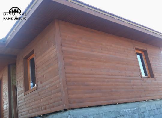 Drvena montažna kuća - Drvofinal Pandurević, Ivanjica